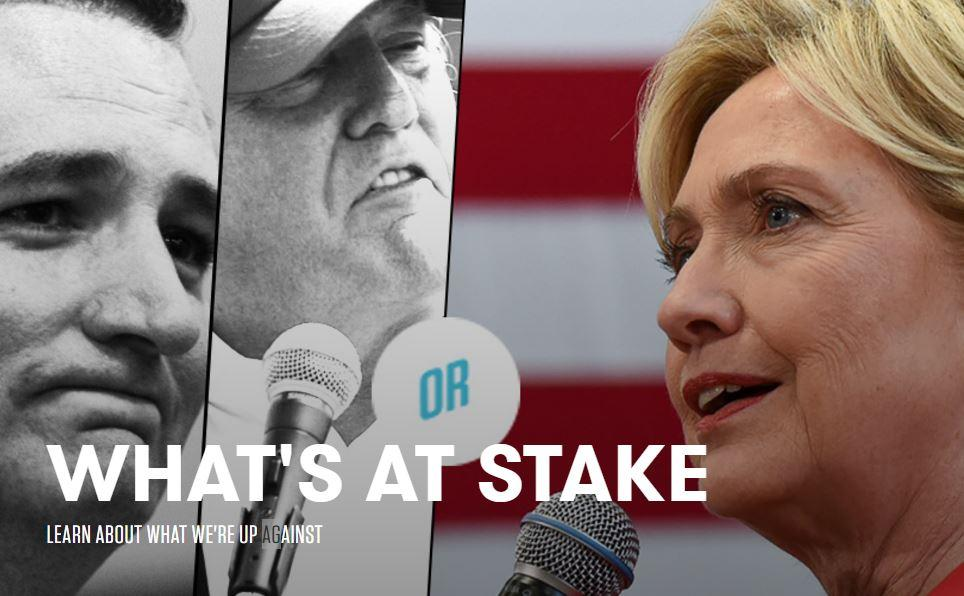 What's at stake